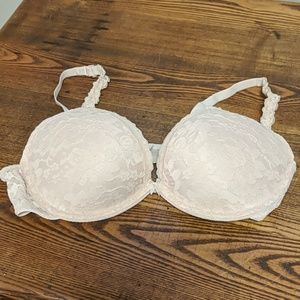 Aerie padded lace push-up plunge bra
